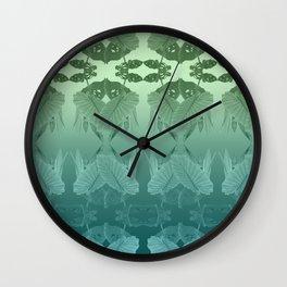 Gradient Pond Life Wall Clock