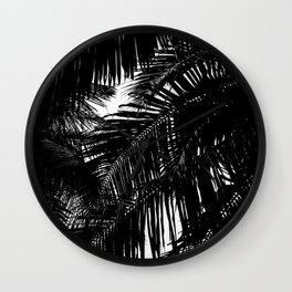 Palms Wall Clock