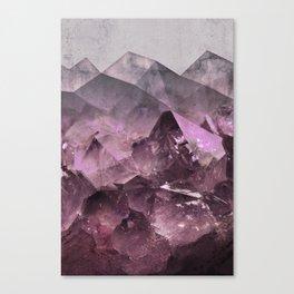 Quartz Mountains Canvas Print