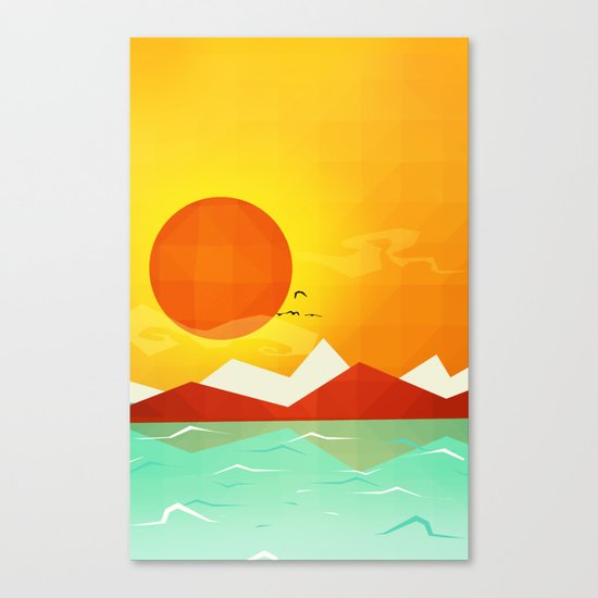 Inferno hot day - and we love it! Canvas Print