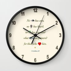 No Eye Has Seen Wall Clock