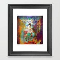 Shakti - Mystic Roots Framed Art Print