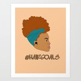 Hair Goals #2 Art Print