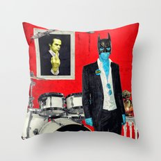 Bat-Cave Throw Pillow