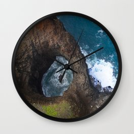Hawaii's Rare Sacred Pool Wall Clock