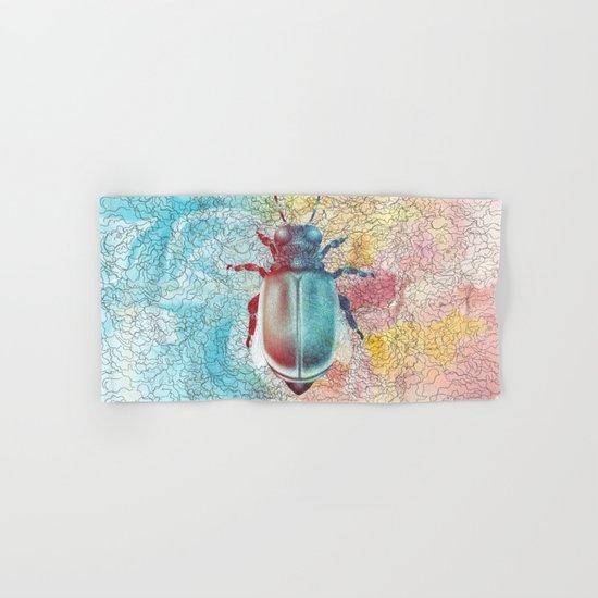 Beetle Hand & Bath Towel