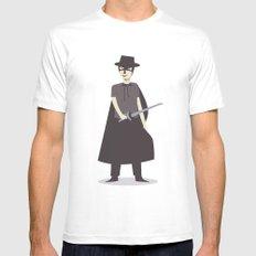El Zorro MEDIUM White Mens Fitted Tee