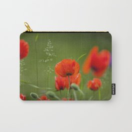 Peony Fire Carry-All Pouch