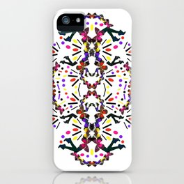 nostalgic pattern iPhone Case
