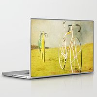 tour de france Laptop & iPad Skins featuring Le Tour by bomobob