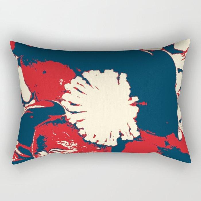 Camellia III - series Rectangular Pillow
