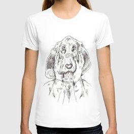 Sad Bloodhound T-shirt
