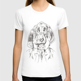 Sad Bloodhound T-shirt