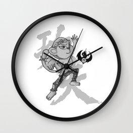 KungFu Zodiac - Monkey Wall Clock