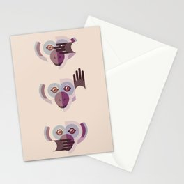 Ignore no evil Stationery Cards