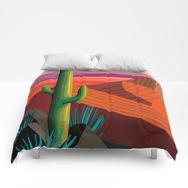 Phoenix Arizona Travel Poster Comforters