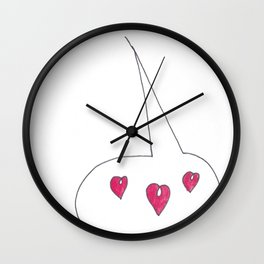LOVE BUZZ Wall Clock