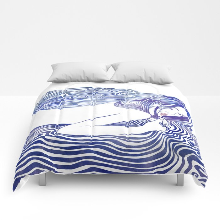 Water Nymph XXI Comforters