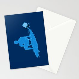 Water Surfer Stationery Cards