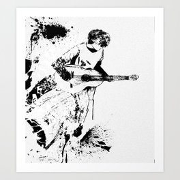 The Guitarist Art Print