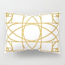 Golden Flower Pillow Sham