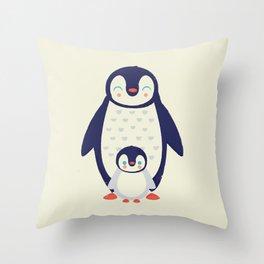 Proud Mama Throw Pillow