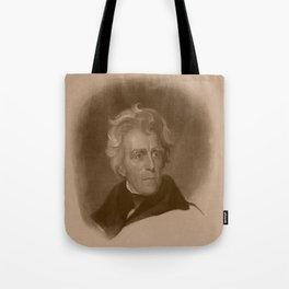 President Andrew Jackson Tote Bag