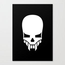 Sinister Skull Canvas Print