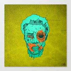 Zombie Thump! Canvas Print