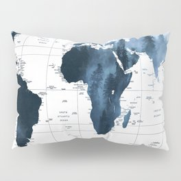 ALLOVER THE WORLD-Woods fog map Pillow Sham