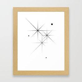 Silent Explosions Framed Art Print