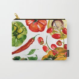 Vegetable mix Carry-All Pouch