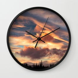 Good Morning Anchorage, Alaska Wall Clock