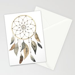 Dream Catcher Brown Stationery Cards