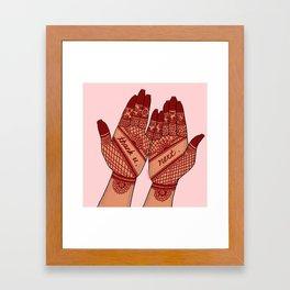 thank u, next Framed Art Print