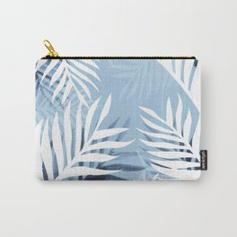 Tropical bliss - chambray blue Carry-All Pouch
