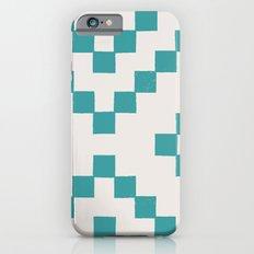 Tiles - in Teal Slim Case iPhone 6s