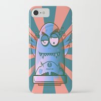 the fault iPhone & iPod Cases featuring Fault 45 02 (its not his fault) by Face Leakage