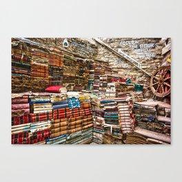 Bookstore Canvas Print