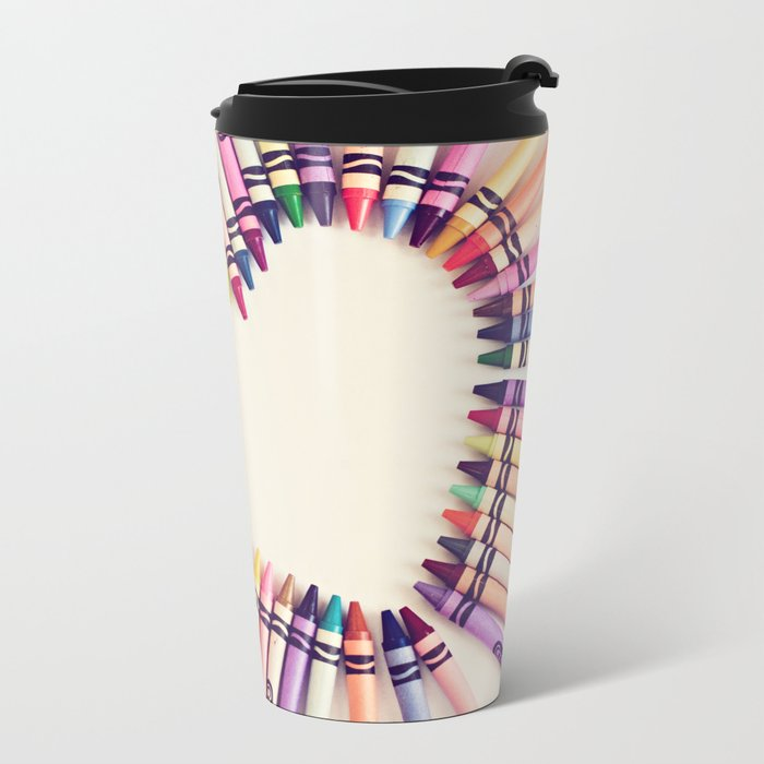 love in every color Metal Travel Mug