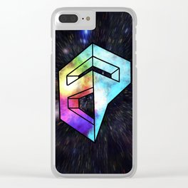 Inner Galaxy EP Logo Clear iPhone Case