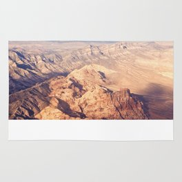 Nevada from Above Rug