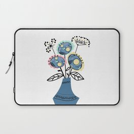 Quilling, flowers in vase 2 Laptop Sleeve