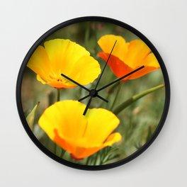 .sunny day. Wall Clock
