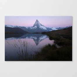 waking up with the Matterhorn II Canvas Print