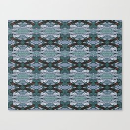 ATOMIC SQUID ZEPPELIN Canvas Print