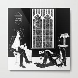 Do What Thou Wilt Metal Print