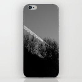 dark print iPhone Skin