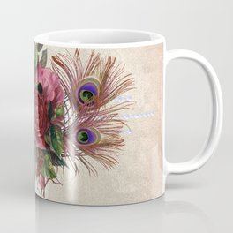 Peacock Feather Bouquet Coffee Mug