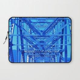 Cobalt Blue Metal Bridge Laptop Sleeve